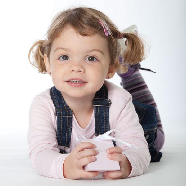 Cute earrings for little ones