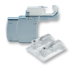 Used only by our Studex partners—Studex System 75 with piercing studs in sterile cartridges