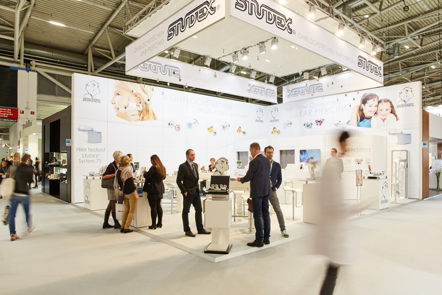Studex Booth at INHORGENTA MUNICH 2016 — Image: © Messe München