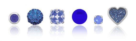 2020 Küpe ve Kulak Delme Modası: Klasik Mavi ve Kombinasyonlar